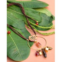 Breath of Life Necklace - Brown